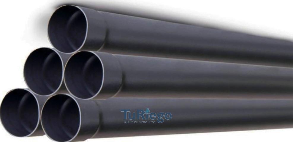 Tubo de presi n en pvc uni n encolada pn 6 en barras de 6 m - Tuberia pvc presion ...