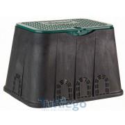 Arqueta 02674/02675 rectangular estándar, tapa con tornillo