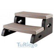 Escalera Basic color coastal gris spas