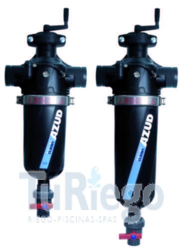 Filtro de malla azud modular 300 spiral clean de 2 y 3 - Filtro de malla ...