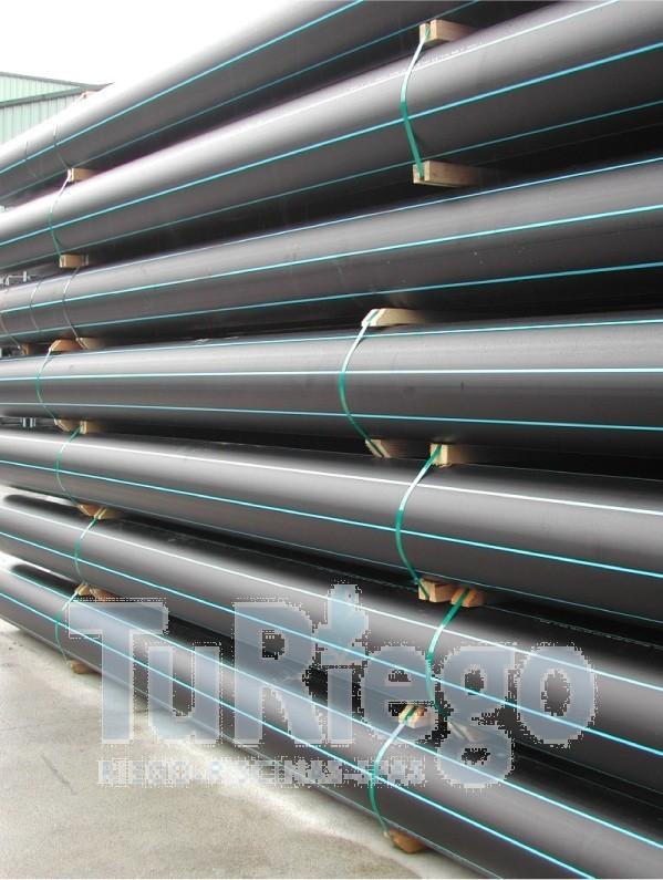 Tubo polietileno a d pn 25 uso alimentario en barras 12 m - Tubo de polietileno precio ...
