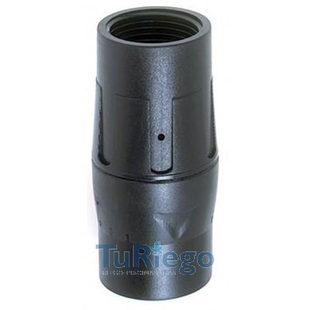 "Regulador de presión NETAFIM de 3/4"" en línea caudal (50-1000 l/h.)"