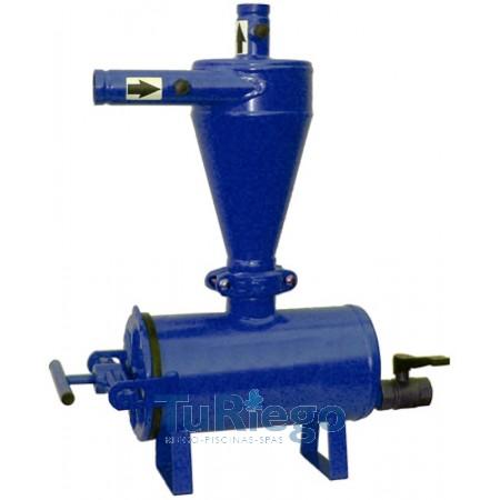 Filtro hidrociclón metálico Gaer