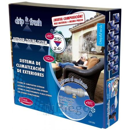 Kit Drip &Fresh sistema de Nebulización baja presión en exteriores
