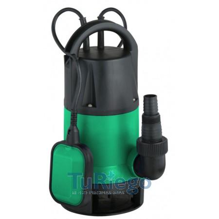 Bomba sumergible para achique, en plástico WB-350