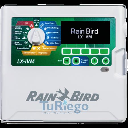 Programador Rain Bird ESP LX-IVM, de 2 hilos para válvulas con módulo integrad