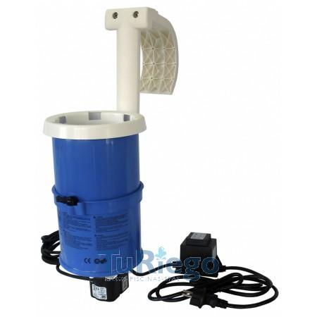 Skimmers con filtro de cartucho para piscinas elevadas, de 2 a 3,8 M3/H.