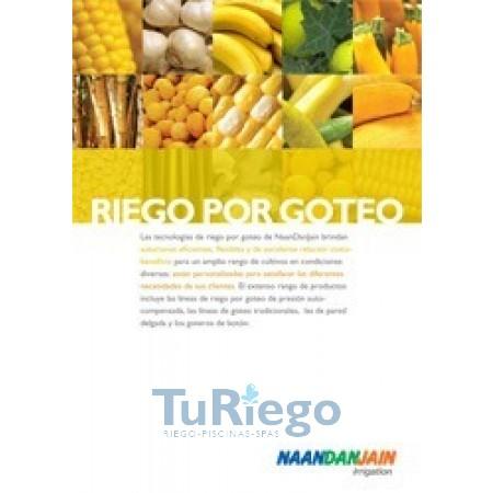 Catálogo NAANDANJAIN Riego goteo y microaspersión