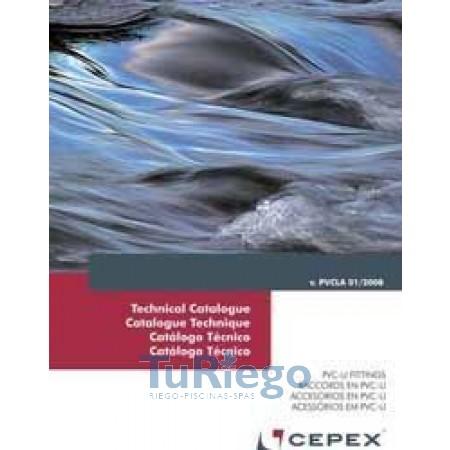 Catálogo Técnico accesorio PVC CEPEX