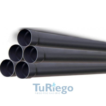 Tubo de presión en PVC unión encolada