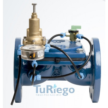 Válvulas hidraúlicas metálicas equipadas como REDUCTORA DE PRESION
