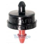 Goteros botón turbulento NETAFIM cilindrico CARPINTERO
