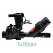 "XCZ-075 PRF Electroválvula 3/4""H 24 VCA bajo caudal +  filtro regulador presión"
