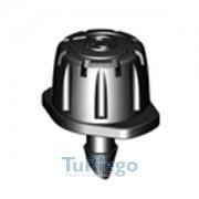Gotero ajustable 8 chorros de o a 40 L/H. CEPEX 360º,de insertar 4,5 mm