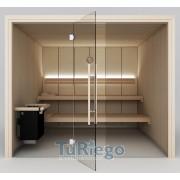 Sauna prefabricada ST. MORITZ