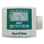 Programador digital autónomo Rain Bird WPX, de 1 a 6 estaciones.