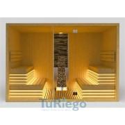 Sauna prefabricada MIRAMONTE