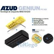 Tubo goteo AZUD GENIUN PC MD Ø 16 mm. espesor 0,63 mm. gotero autocompensante 1,6 L/H. (rollo 800 ml.)