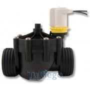 Electroválvula BP de de 9V., baja presión 0,5 a 10 Bar