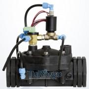 Válvulas hidraúlicas plásticas ELECTROVALVULA 9-12V latch