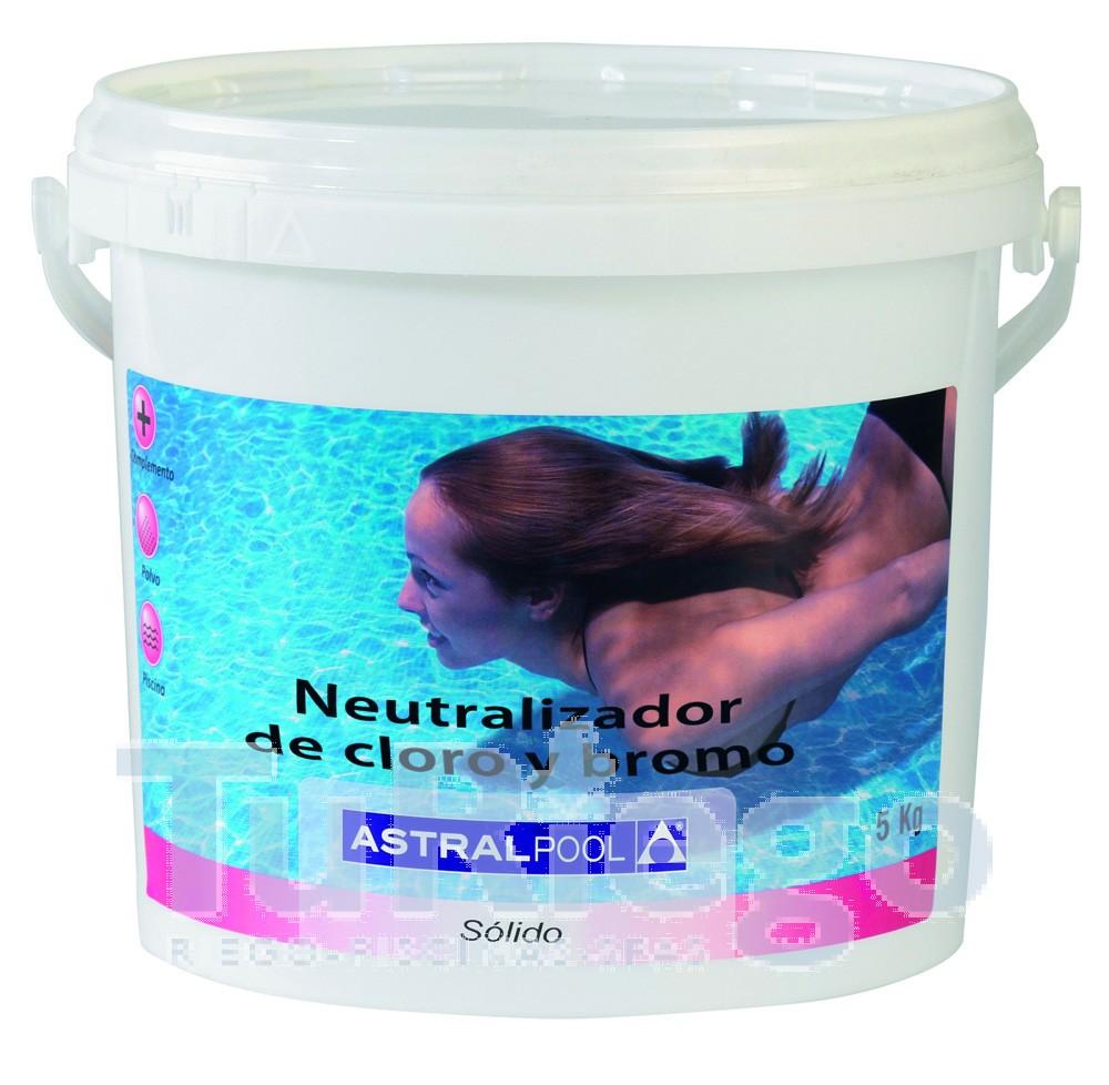 Neutralizador de cloro y bromo de astralpool for Pastillas de bromo para piscinas